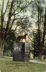 Catamount Monument Site Of Tavern 1707