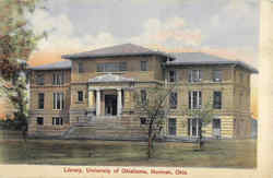 Library , University Of Oklahoma