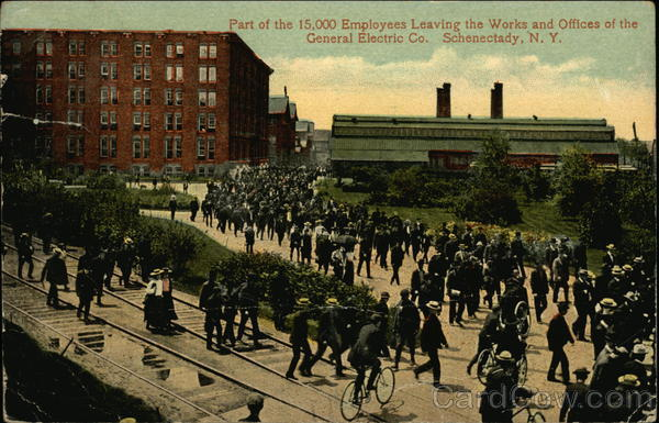 Part Of The 15 000 Employees Leaving The Works And Offices