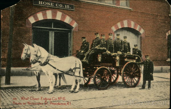 What Cheer Engine Co. No. 15 Providence Rhode Island