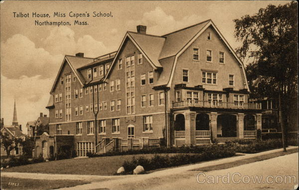 Talbot House, Miss Capen's School Northampton Massachusetts