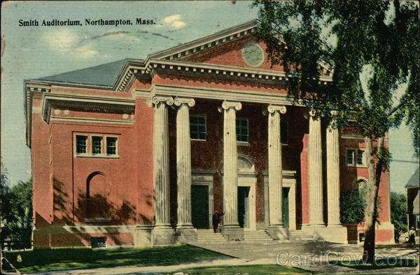 Smith Auditorium Northampton Massachusetts