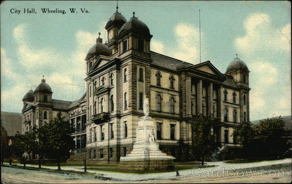 City Hall Wheeling West Virginia