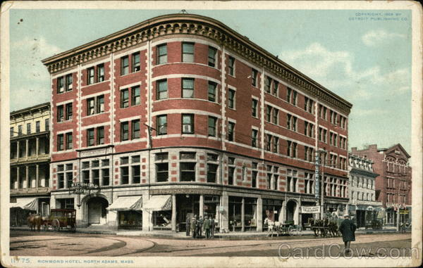 Richmond Hotel, North Adams Massachusetts