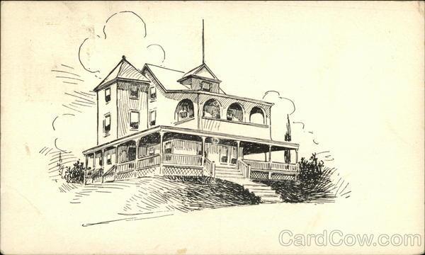 Drawing of Large Residence Charlestown Rhode Island