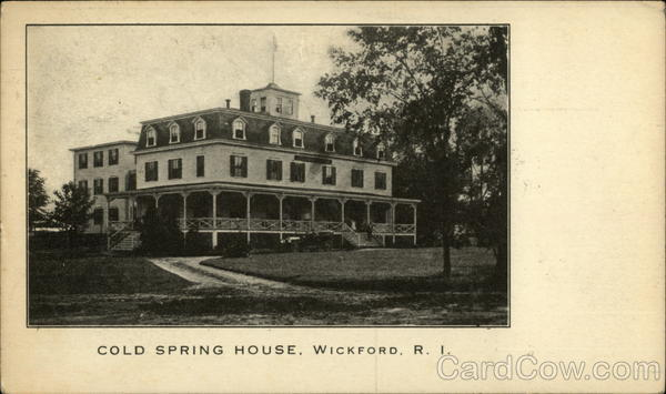Cold Spring House Wickford Rhode Island