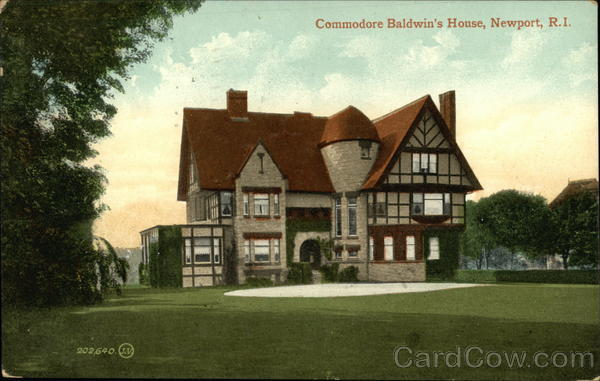 Commodore Baldwin's House Newport Rhode Island