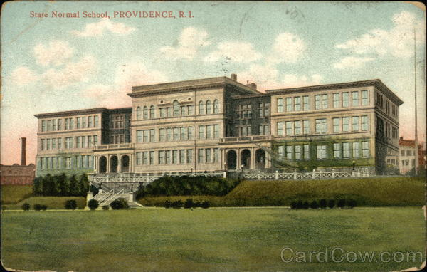 Providence RI State Normal School Rhode Island