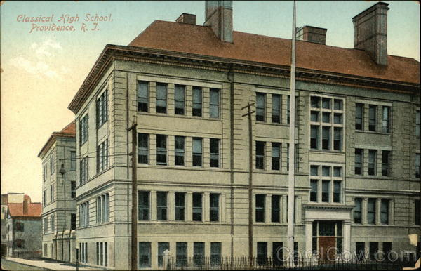 Classical High School Providence Rhode Island