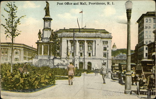 Post Office and Mall Providence Rhode Island