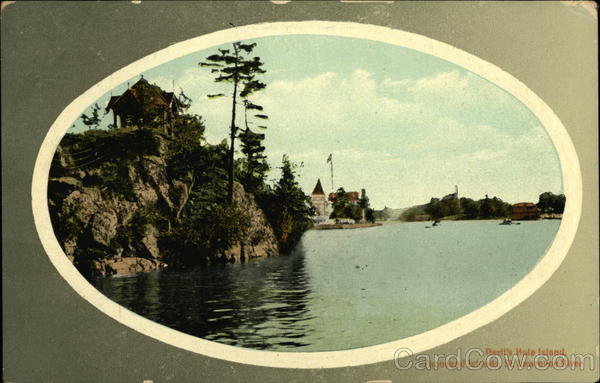 Devil's Hole Island, St. Lawrence River Thousand Islands Canada