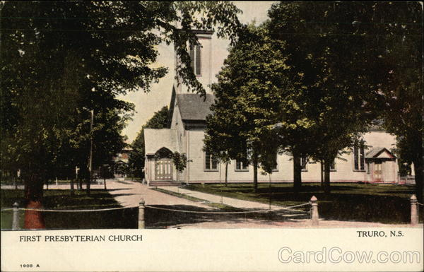 First Presbyterian Church Truro Canada Nova Scotia