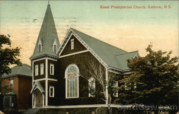 Knox Presbyterian Church Amherst Canada Nova Scotia