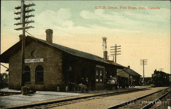 GTR Depot Port Hope Canada Ontario