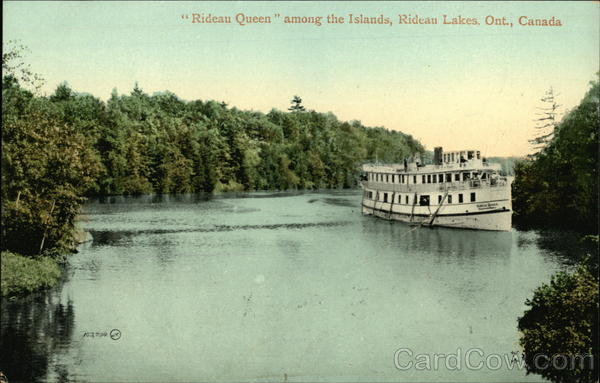 Rideau Queen Among the Islands Rideau Lakes Canada