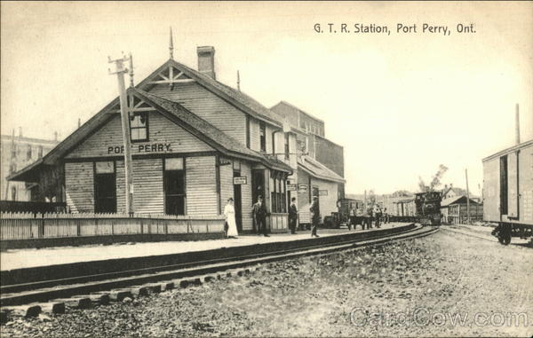 G.T.R. Station Port Perry Canada Ontario