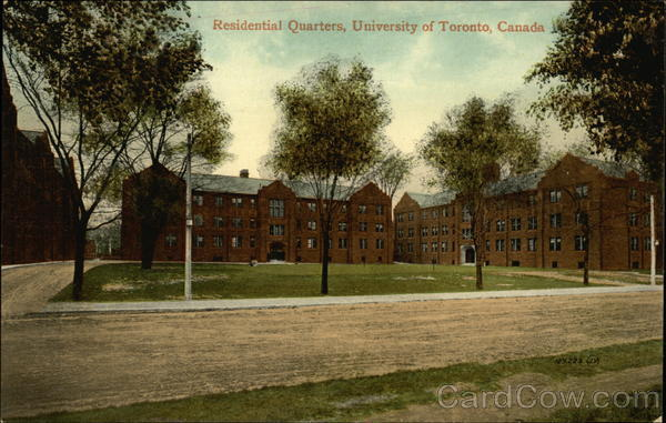 Residential Quarters, University of Toronto Canada