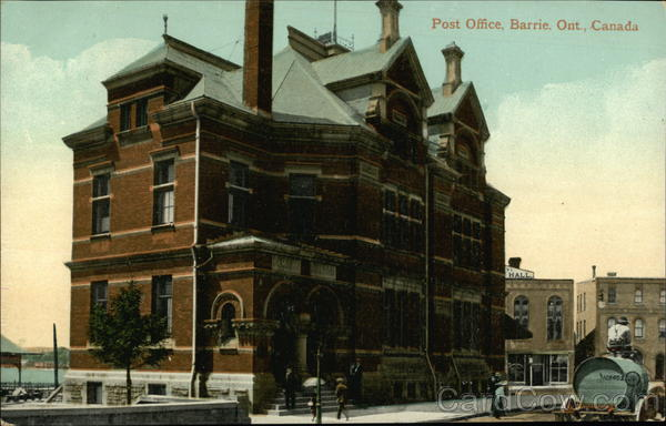 Post office Barrie Canada Ontario