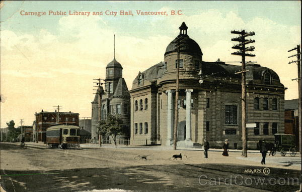 Carnegie Public Library and City Hall Vancouver Canada