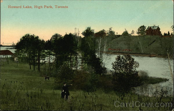Howard Lake, High Park Toronto Canada Ontario