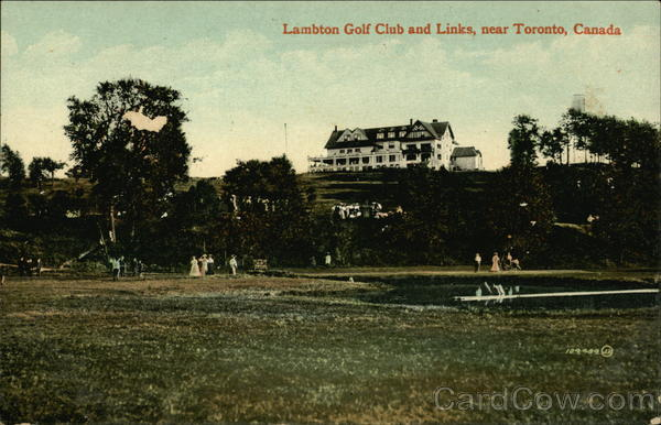 Lambton Golf Club and Links, Near Toronto Canada Ontario