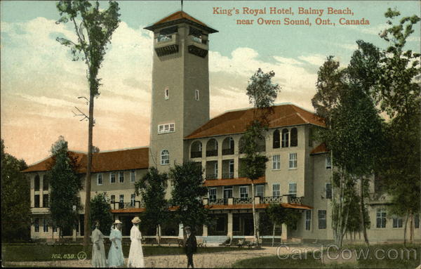 King's Royal Hotel, Balmy Beach Owen Sound Canada Ontario