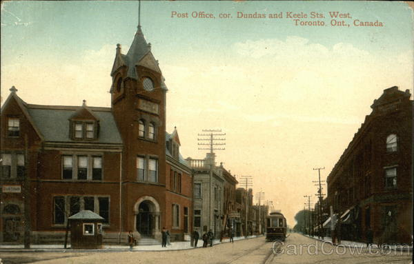 Post Office, Corner of Dundas and Keele Streets West Toronto Canada