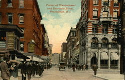 Corner of Westminster and Dorrance Streets