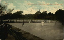 Tennis Courts, Golden Gate Park