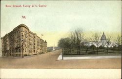 Hotel Driscoll, Facing US Capitol