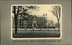 Harvard University, Phillips Brooks House Postcard