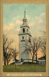 Evacuation Monument Postcard