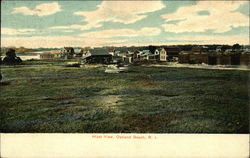 West View of Oakland Beach Postcard