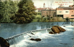 Falls on Powtuxet River