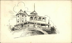 Drawing of Large Residence