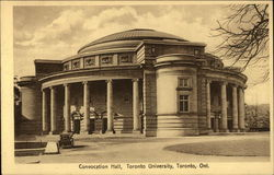 Convocation Hall, Toronto University