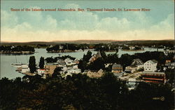 Some of the Islands Around Alexandria Bay, Thousand Islands, St. Lawrence River