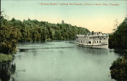 Rideau Queen Among the Islands