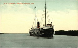SS Alberta Near Fort William