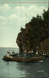 Queen Victoria Rock at Lake Rosseau
