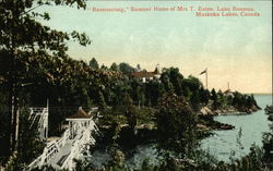 Ravenscraig, Summer Home of Mrs. T. Eaton, Lake Rosseau, Muskoka Lakes