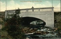 Water View of Court Street Bridge