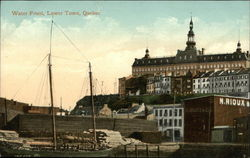Waterfront, Lower Town Postcard