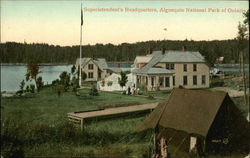 Superintendent's Headquarters, Algonquin National Park