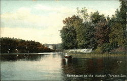 Recreation on the Humber Postcard