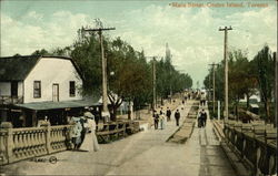 View of Main Street, Centre Island