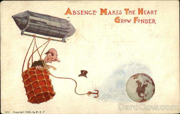 Absence Makes The Heart Grow Fonder Comic, Funny
