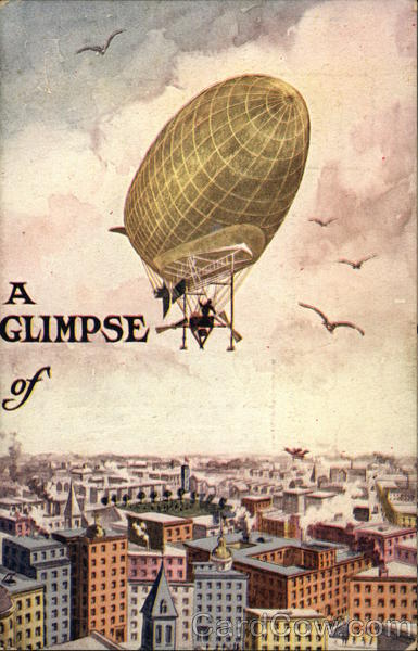 A Glimpse of Airships