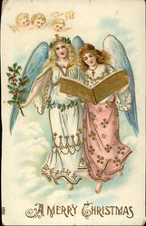 A Merry Christmas with Angels and Cherubs