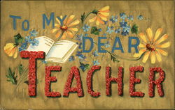 To my dear teacher